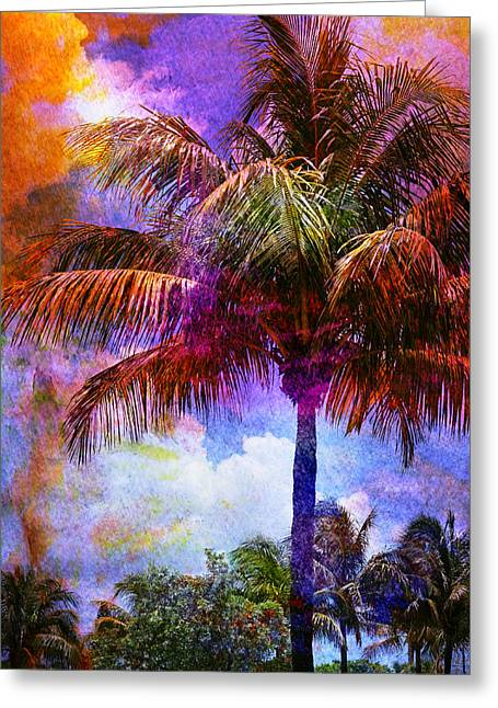 Gouache Photographs Greeting Cards - Circe Greeting Card by Laura  Fasulo