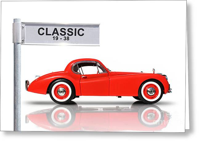 Sixties Style Automobile Greeting Cards - Classic Car Greeting Card by Ryan Jorgensen