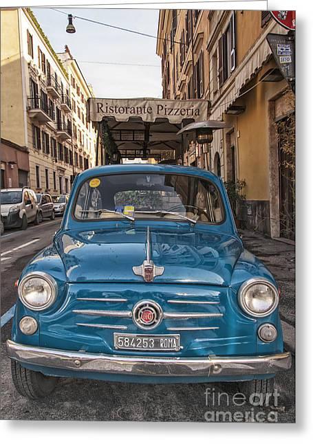 Illustrative Photographs Greeting Cards - Classico Italia Greeting Card by Antony McAulay