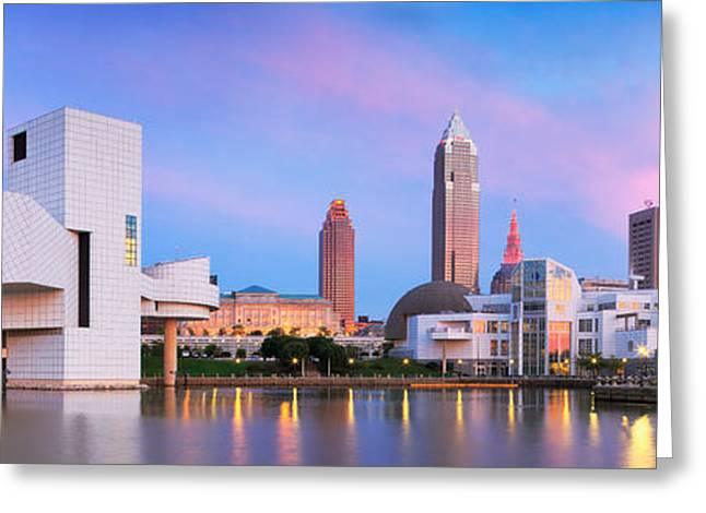 Fame Greeting Cards - Cleveland  OH  Greeting Card by Emmanuel Panagiotakis