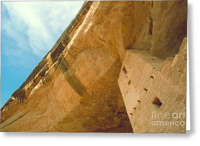 Mesa Verde Greeting Cards - Cliff Palace Tower Greeting Card by Jerry McElroy
