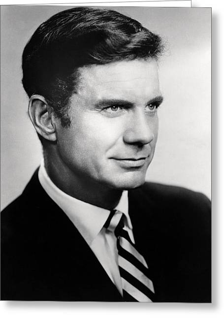 Cliffs Photographs Greeting Cards - Cliff Robertson Greeting Card by Silver Screen