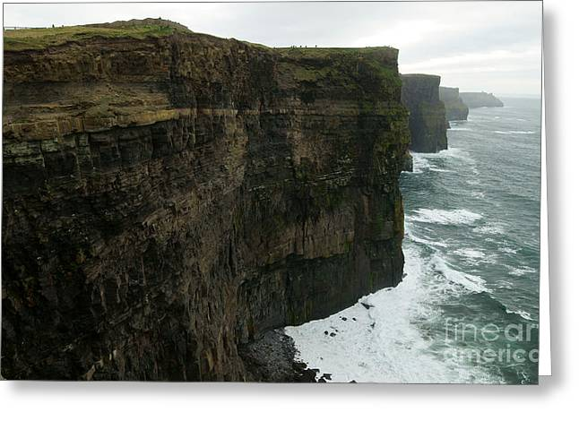 Europe Greeting Cards - Cliffs of Moher 1 Greeting Card by Benjamin Reed