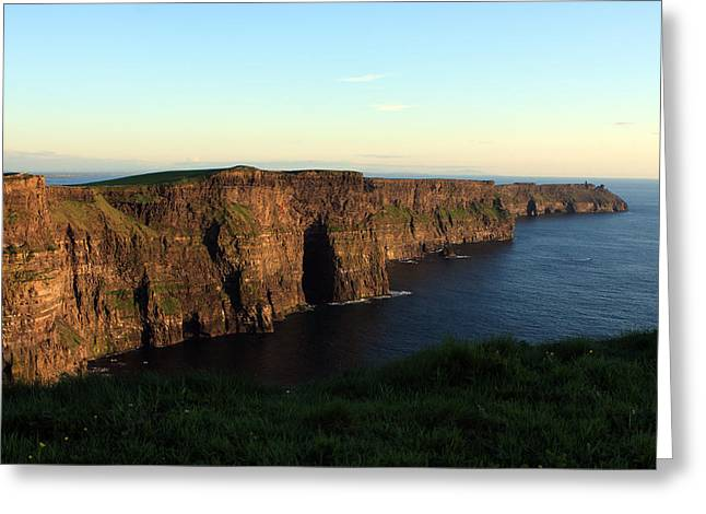 Most Photographs Greeting Cards - Cliffs of Moher- Clare- Ireland Greeting Card by Aidan Moran