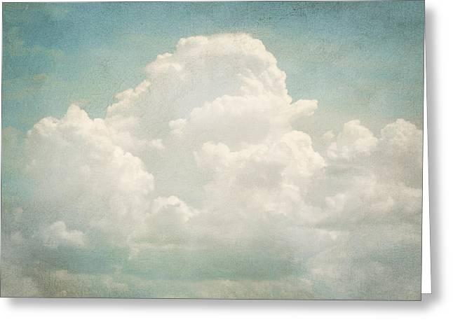 Cloud Series 3 of 6 Greeting Card by Brett Pfister