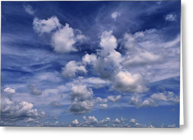 Tom Druin Greeting Cards - Cloudscape 4 Greeting Card by Tom Druin