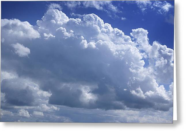 Firmament Greeting Cards - Cloudscape Greeting Card by Donald  Erickson