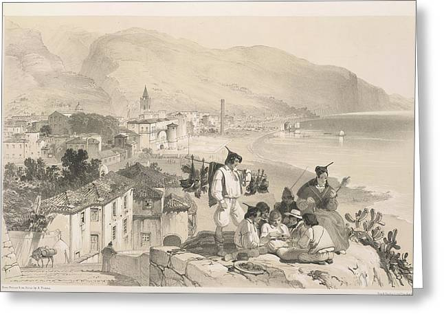 Coastal View Greeting Card by British Library