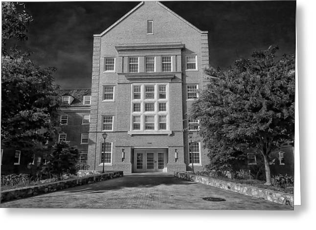 Cobb Greeting Cards - Cobb Residence Hall - University of North Carolina Greeting Card by Mountain Dreams