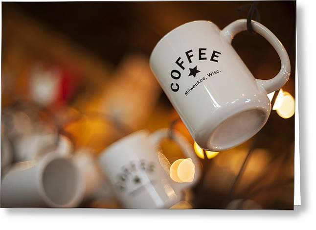 Depth Of Field Greeting Cards - Coffee Greeting Card by Scott Norris
