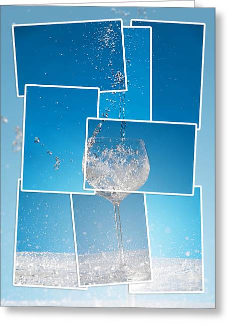 Cold One Greeting Card by Alexey Stiop