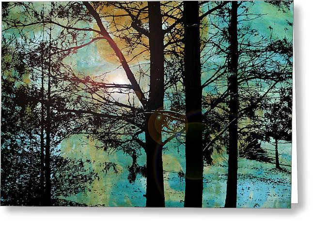 Katherine Sands Greeting Cards - Collage2V5 Greeting Card by Katherine Sands