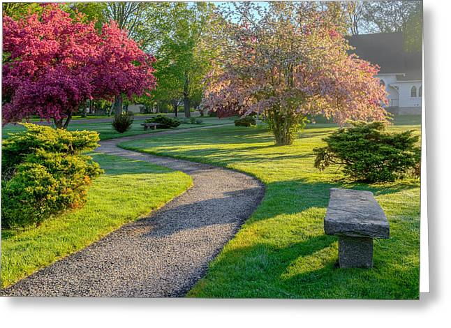 Roxbury Greeting Cards - Color of Spring Greeting Card by Bill  Wakeley