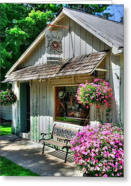 Indiana Flowers Greeting Cards - Colors Of Metamora 4 Greeting Card by Mel Steinhauer
