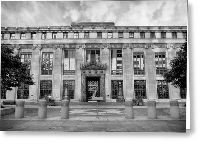 City Hall Greeting Cards - Columbus Ohio City Hall Greeting Card by Mountain Dreams