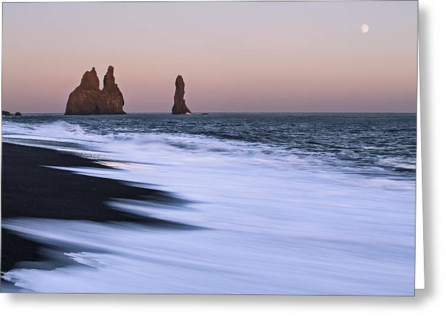 Iceland Greeting Cards - Come Ashore Greeting Card by Jon Glaser