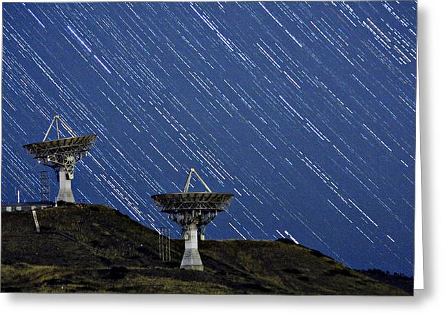 Communications to the Stars Greeting Card by James BO  Insogna