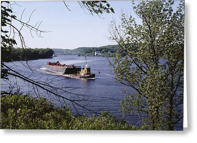 Highsmith Greeting Cards - Connecticut River Greeting Card by Carol M Highsmith