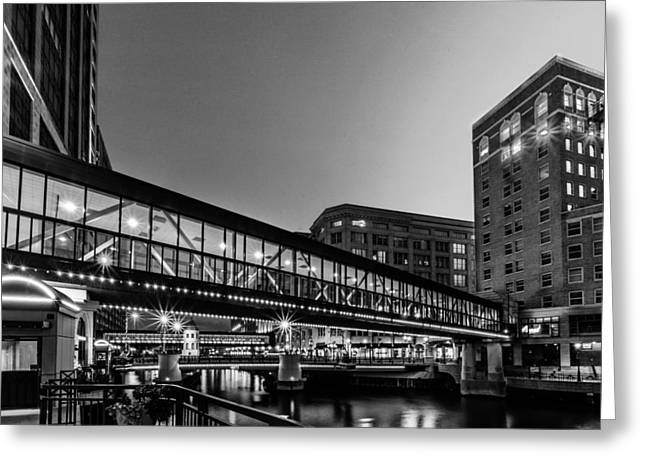 Riverwalk Greeting Cards - Connections Greeting Card by Randy Scherkenbach