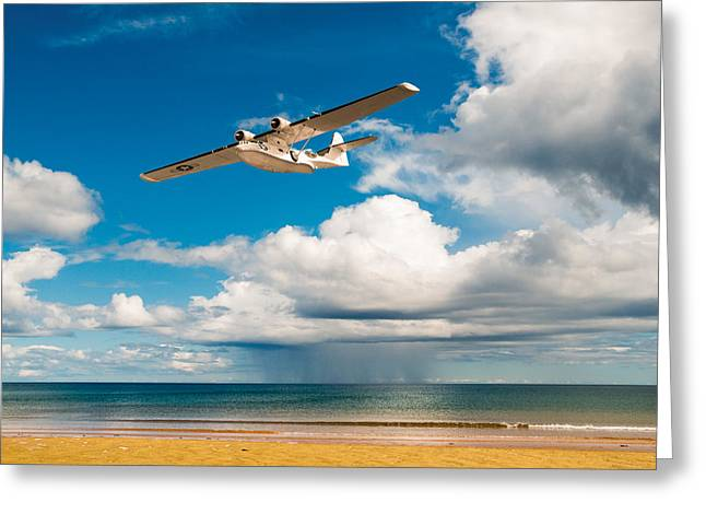 Pby Catalina Greeting Cards - Consolidated PBY Catalina Greeting Card by Gary Eason