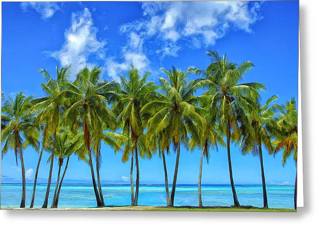Lahaina Greeting Cards - Cool Breeze Greeting Card by Dominic Piperata