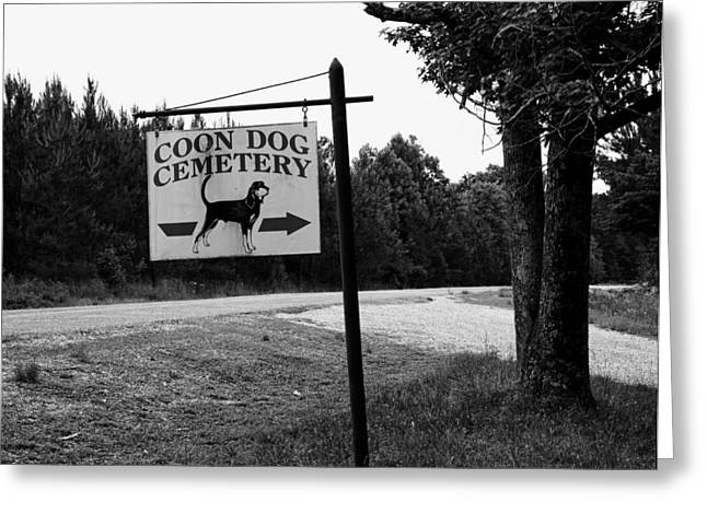 Graveyard Road Greeting Cards - Coon Dog Cemetery Greeting Card by Mountain Dreams
