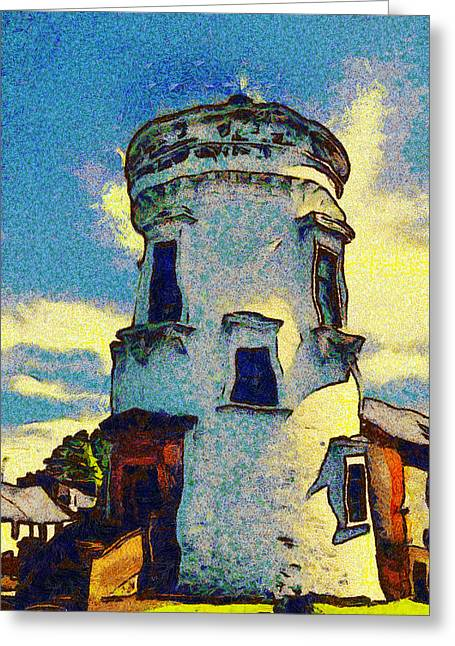 Seaside Digital Greeting Cards - Corbiere Lighthouse Greeting Card by Unknown