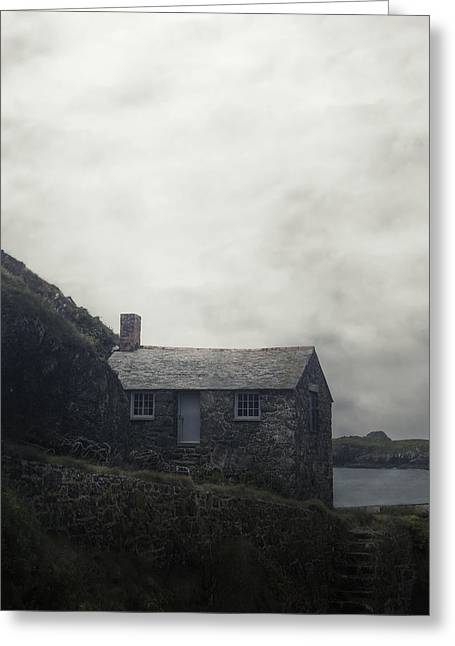 Cottages Photographs Greeting Cards - Cornish Cottage Greeting Card by Joana Kruse