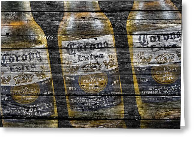 Corona Extra Greeting Card by Joe Hamilton