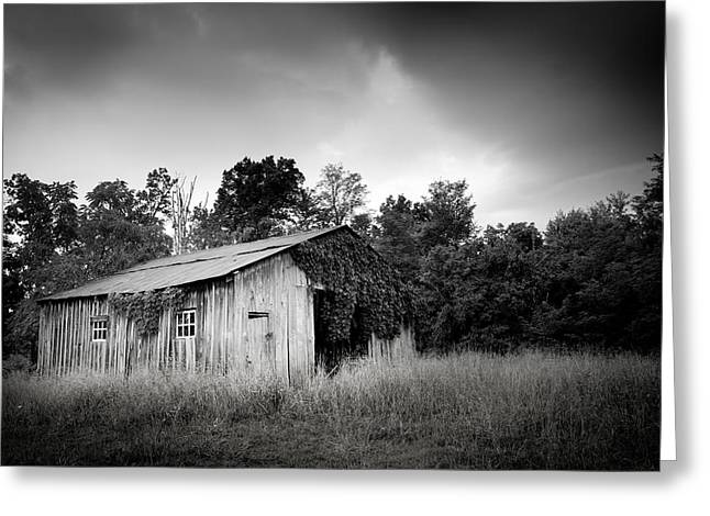 Virginia Landscape Greeting Cards - Country Barn Greeting Card by Shane Holsclaw