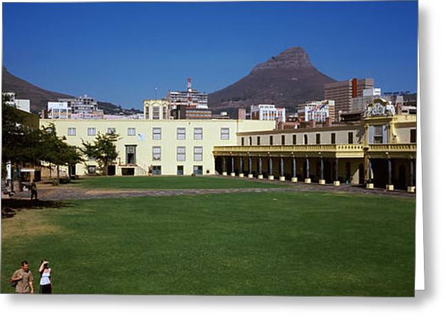 Western Cape Greeting Cards - Courtyard Of A Castle, Castle Of Good Greeting Card by Panoramic Images