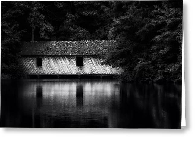 Covered Bridge Greeting Cards - Covered Bridge in Alabama Greeting Card by Mountain Dreams