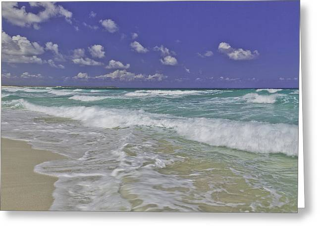 Aqua Greeting Cards - Cozumel Paradise Greeting Card by Chad Dutson