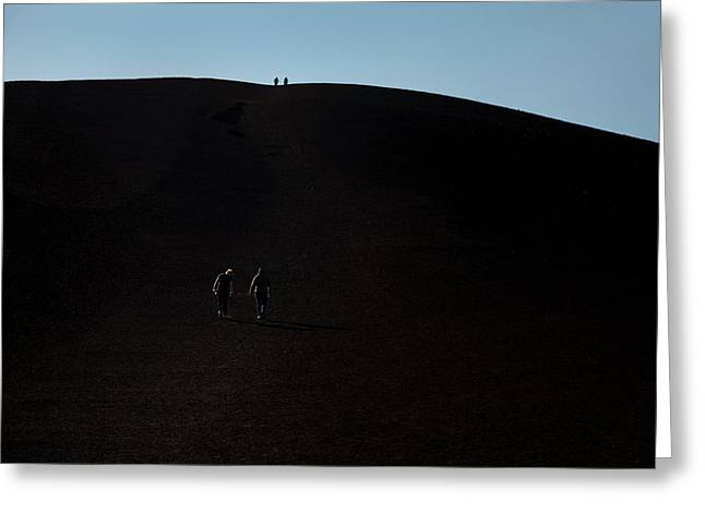 Craters Of The Moon Volcanic Cone Greeting Card by Jim West