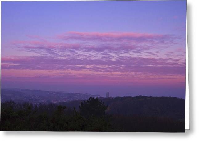 Cromer Sunrise  Greeting Card by David French