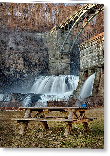 Emmanouil Greeting Cards - Croton Falls View Greeting Card by Emmanouil Klimis