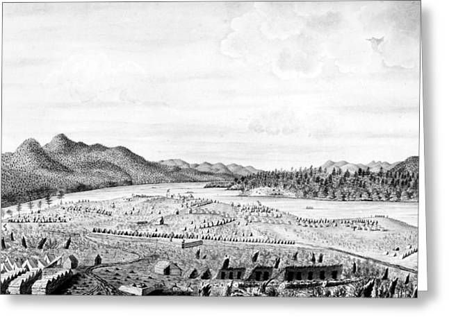 Crown Point, 1759 Greeting Card by Granger