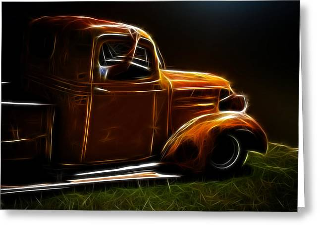 1932-1937 Greeting Cards - Cruising the Old Chevy Greeting Card by Steve McKinzie