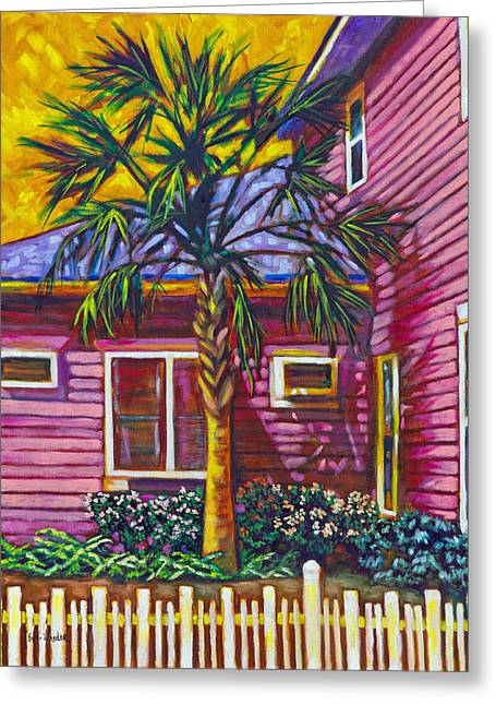 Eve Wheeler Greeting Cards - Curb Appeal Greeting Card by Eve  Wheeler