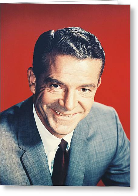 Danae Greeting Cards - Dana Andrews Greeting Card by Silver Screen