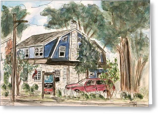 Franklin Tennessee Greeting Cards - Daniel Christian Realtors Greeting Card by Tim Ross