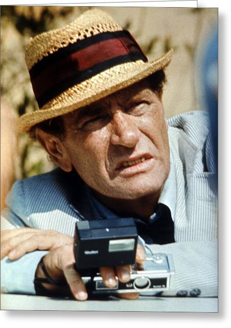 Darren Greeting Cards - Darren McGavin in The Night Stalker  Greeting Card by Silver Screen