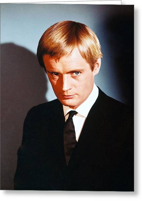 N.c. Greeting Cards - David McCallum in The Man from U.N.C.L.E.  Greeting Card by Silver Screen
