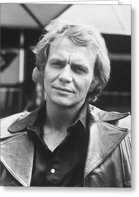 Souls Greeting Cards - David Soul in Starsky and Hutch  Greeting Card by Silver Screen