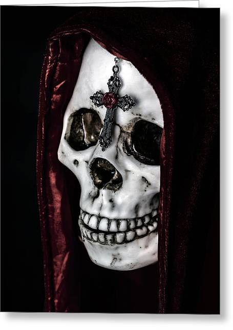 Eerie Greeting Cards - Dead Knight Greeting Card by Joana Kruse