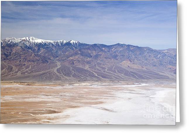 Panamint Valley Greeting Cards - Death Valley, Ca Greeting Card by Richard and Ellen Thane