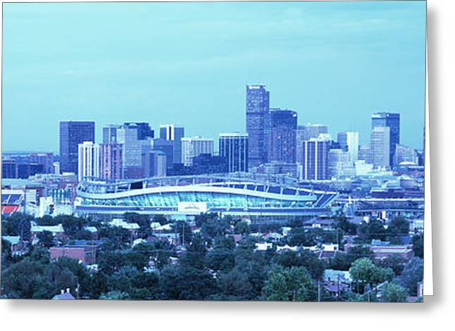 Coors Greeting Cards - Denver Co Greeting Card by Panoramic Images