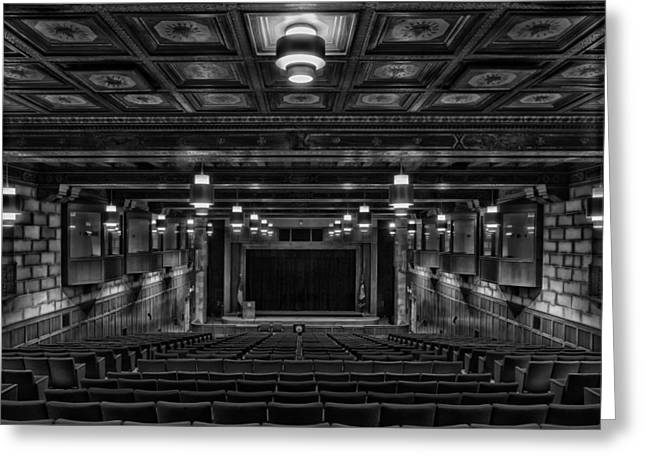 Herbert Hoover Greeting Cards - Department of Commerce Auditorium - Washington DC Greeting Card by Mountain Dreams