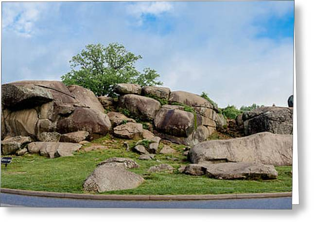 Devils Den Greeting Cards - Devils Den Pan Greeting Card by Guy Whiteley