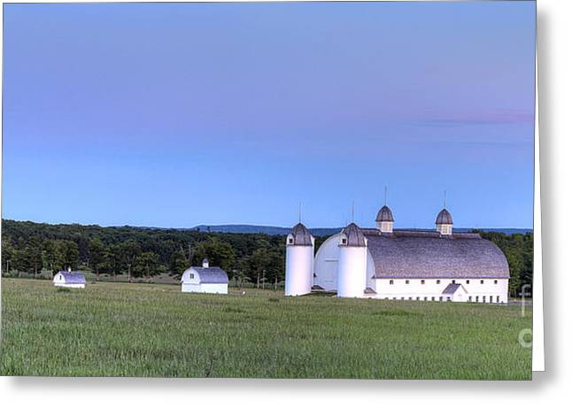 Scenic Drive Greeting Cards - DH Day Farm in Sleeping Bear Dunes Greeting Card by Twenty Two North Photography